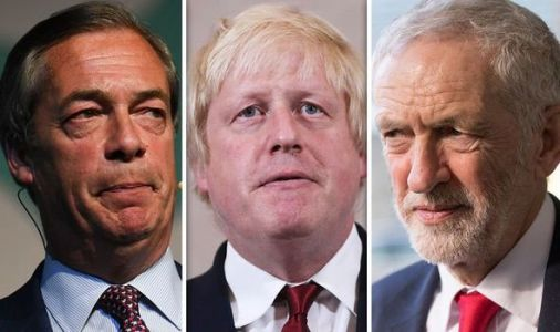 Boris Johnson vows to BEAT Farage and Corbyn and deliver Brexit in just three months