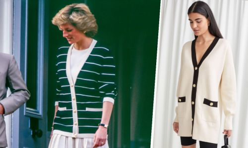 This & Other Stories cardigan looks like it came straight from Princess Diana's '80s wardrobe