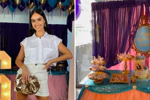 Inside Siannise Fudge's incredible Aladdin-themed 26th birthday party