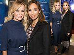 Amanda Holden looks effortlessly chic as she joins Myleene Klass at Les Misérables opening night