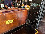 Pub bosses install ELECTRIC FENCE at the bar to keep punters socially distanced