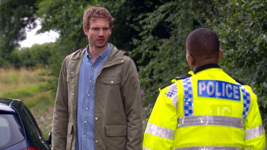 Does Jamie Tate go to prison in Emmerdale?