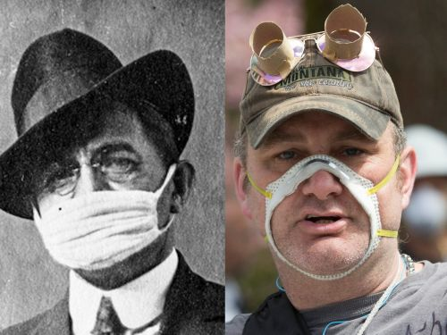 The face mask is a political symbol in America, and what it represents has changed drastically in the 100 years since the last major pandemic