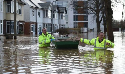 UK weather forecast: Flood warnings spark evacuations as severe conditions continue after Storm Dennis