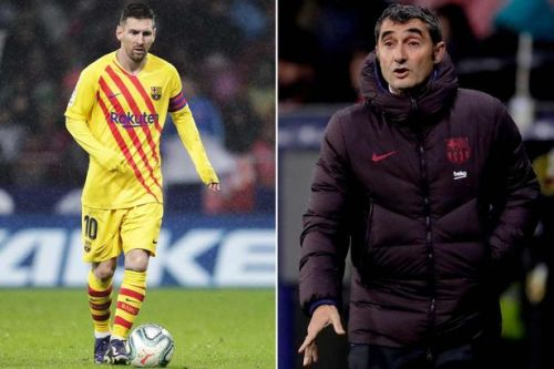 Lionel Messi retirement is 'in the air', admits Barcelona boss Ernesto Valverde