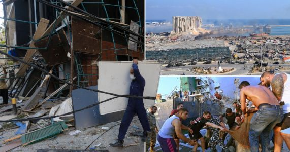 Two week state of emergency declared as Beirut warehouse security arrested