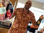 Tyson Fury celebrates his 32nd birthday with his family as they throw a party for him at home