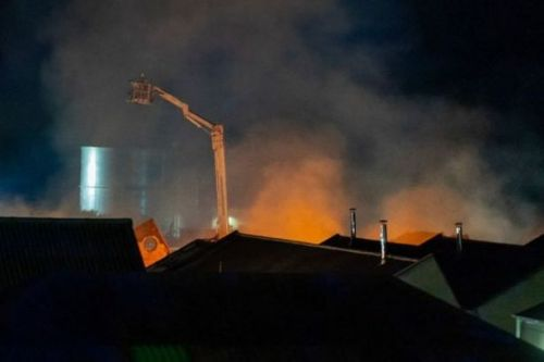 Firefighters tackle huge Moray blaze as public urged to avoid area