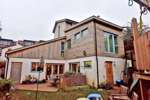 Couple spend four years and £230,000 building eco-friendly dream home
