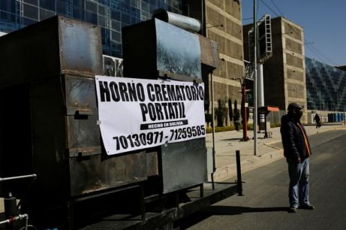 Coronavirus is so bad in Bolivia bodies are being burned in a mobile crematorium