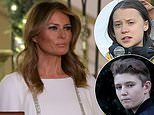 Melania denies hypocrisy for guarding Barron's privacy while Donald Trump attacks Greta Thunberg