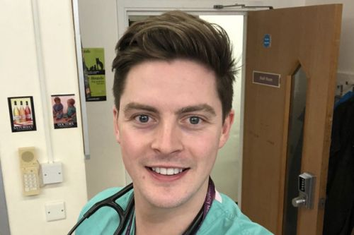 Love Island's Dr Alex George says coronavirus peak could last for months