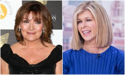 Lorraine Kelly Praises Kate Garraway's Strength In Husband's Covid-19 Battle: 'I'm So Proud Of Her'