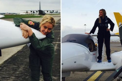Carol Vorderman donates private plane to help fly protective gear to NHS staff