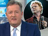 Piers Morgan thanks Simply Red's Mick Hucknall for praise over criticising government
