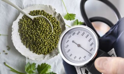 High blood pressure: Mung beans are high in protein and could help lower readings