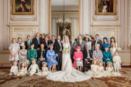 BREAKING: Lady Gabriella Windsor's wedding photos are released