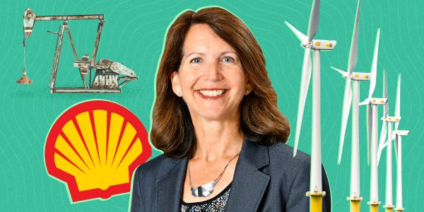 Shell's new clean-energy boss is forging a fresh future for the $100 billion giant as the oil business begins to unravel