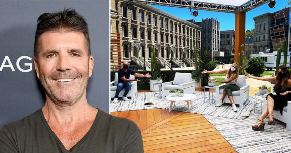 Simon Cowell's America's Got Talent chair left empty as judges wish him well after back surgery