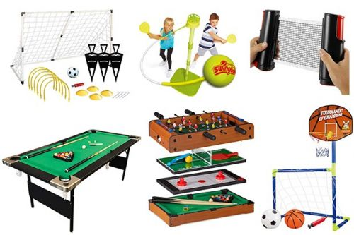 No sport on TV? Get your fix from home with these games tables and outdoor sports sets