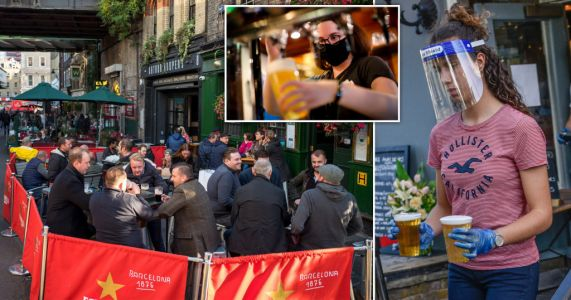 Pubs without gardens will be able to use car parks and terraces from April 12