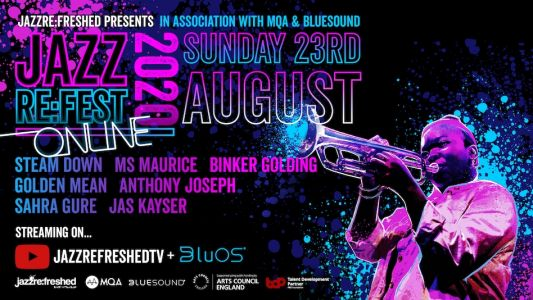 BluOS kit owners will be able to stream JAZZ RE:FEST in MQA hi-res for free