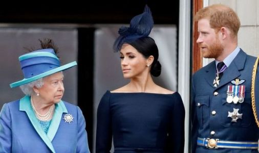 Queen's 'fingerprints won't be found' on Meghan Markle and Prince Harry 'mess'