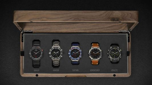 Garmin Will Charge You an Extra £250 To Buy Its Luxury Smartwatch Collection in a Wooden Box