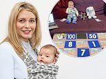 Rachel Riley posts video of daughter doing maths to 'convince Countdown' she can work from home