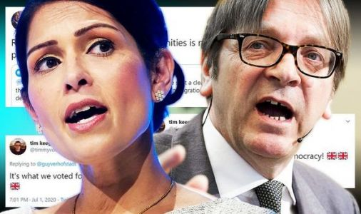 Verhofstadt told to 'keep his nose out' after attack on UK plan to end freedom of movement