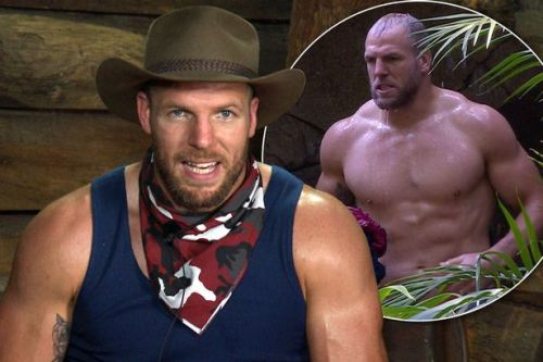 I'm A Celeb's James Haskell wastes away as calories are dramatically slashed to 700