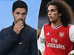 Cash-strapped Arsenal ready to use hot-headed midfielder Matteo Guendouzi in transfer swap deal