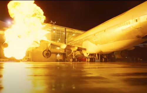 'Tenet': Christopher Nolan crashed a real plane into a building for explosive sequence