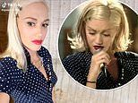 Gwen Stefani, 51, proves she hasn't aged a day as she sports her Don't Speak dress 25 years later