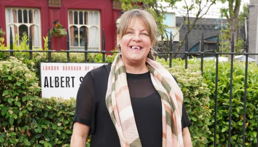 EastEnders star Lorraine Stanley reveals filming 'takes a lot longer' due to social distancing measures
