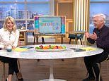 Holly Willoughby and Phillip Schofield are reduced to a fit of giggles