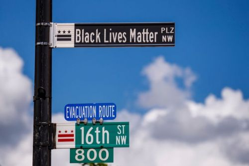 Defiant Washington mayor renames White House street 'Black Lives Matter Plaza'