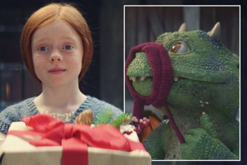 Watch John Lewis Christmas advert featuring Excitable Edgar the dragon in full