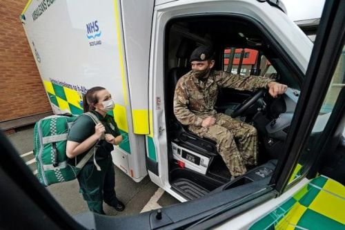 Third Scots health board calls in army as NHS hit by major staffing crisis