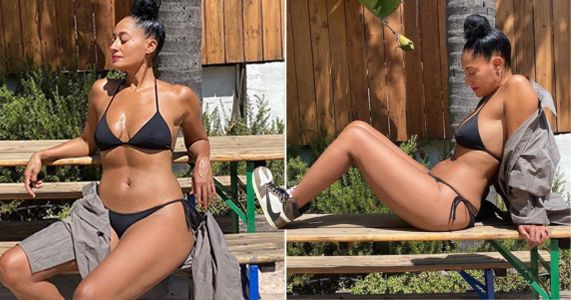 Tracee Ellis Ross is summer goals as she throws pool party without the pool in her back yard
