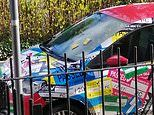 Traffic wardens ticket car FOUR times while the owner watches in coronavirus isolation