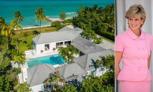 Princess Diana's former holiday home in the Bahamas is up for sale - see inside
