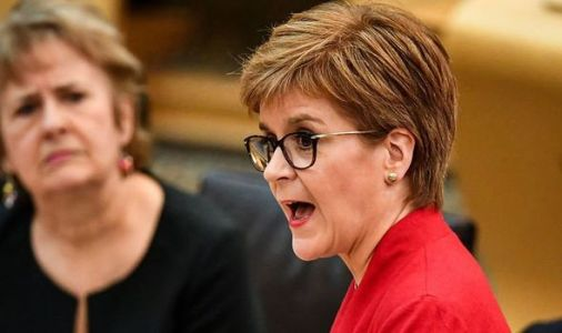 Sturgeon shamed as SNP cuts force councils to fill £95million black hole with tax increase