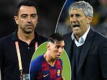 Xavi 'agrees £5.4m-a-year deal to replace Quique Setien as Barcelona manager'