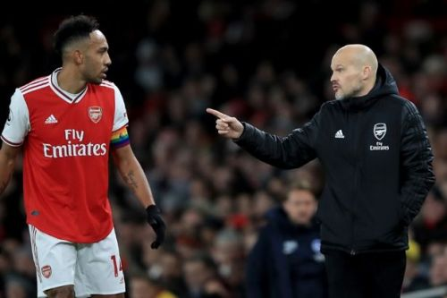 Freddie Ljungberg confirms why Pierre-Emerick Aubameyang left the pitch during Brighton loss