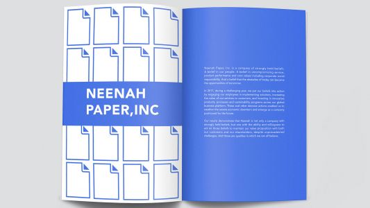 8 cool annual report designs