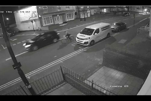 Cyclist's family want public to see horror hit-and-run death to catch killer