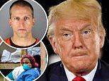 Trump blames 'sick' officers who killed George Floyd and COVID for crisis facing his presidency