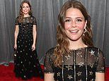 Maggie Rogers radiates literal star power at the Grammy Awards in a sparkling tulle Chanel dress