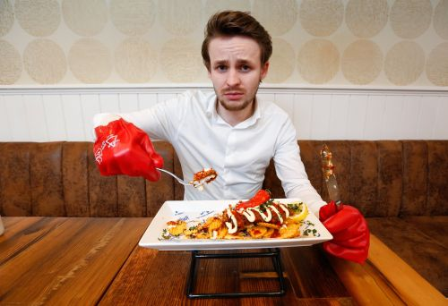 Fish and chip shop creates fish and chips so spicy you have to sign a waiver to try it